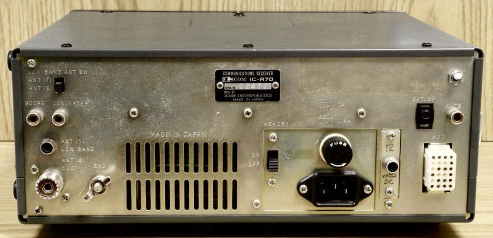 RadioPics Database - Icom - IC-R70