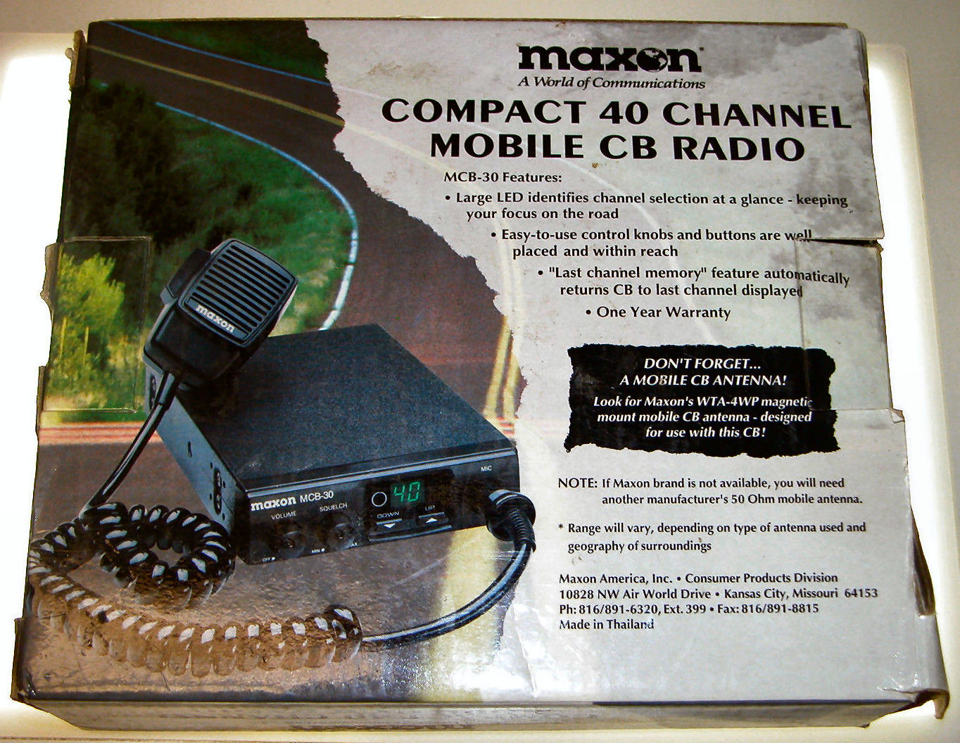 RadioPics Database - CB Radio - Maxon MCB-30