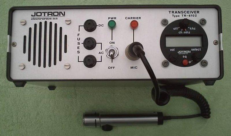 RadioPics Database - Air Band Transceivers - Jotron TR-6102