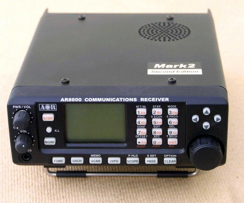 RadioPics Database - AOR - AR-8600 Mk2