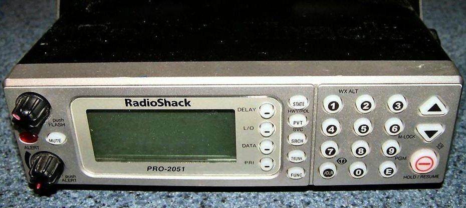 radiopics database radioshack realistic pro 2051 rh radiopics com pro 2041 manual 2051 Calendar