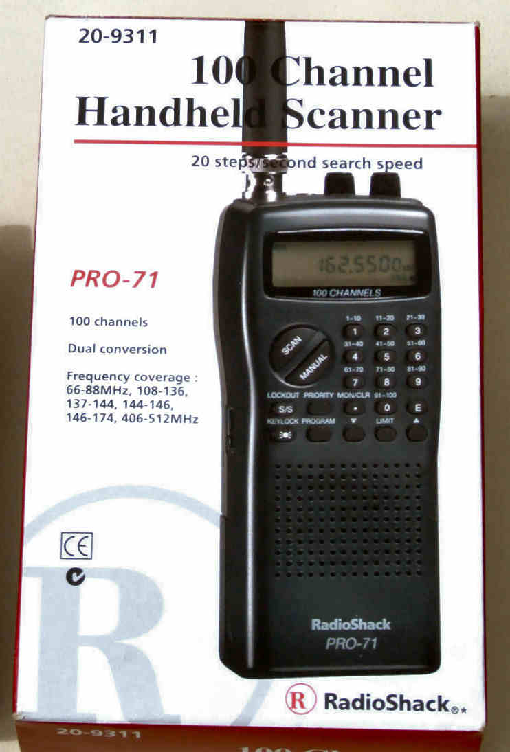 radiopics database radioshack realistic pro 71 rh radiopics com Radio Shack Race Scanner Manual Radio Shack Handheld Police Scanners